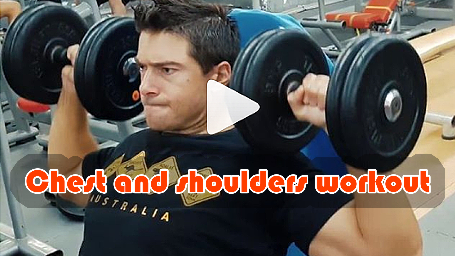 Chest and shoulders workout