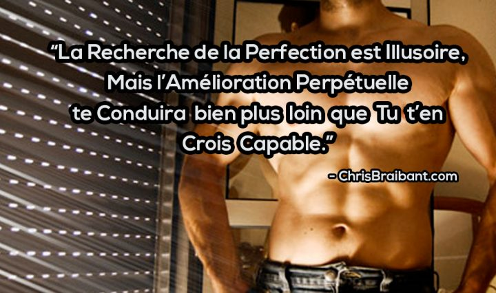 Chris Braibant Motivationnal Quote