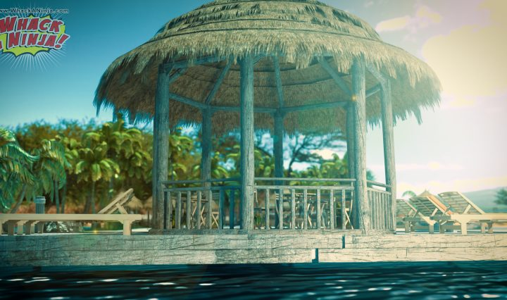 Cinematic Intro Summer Island Stage Whack a Ninja Steam Game