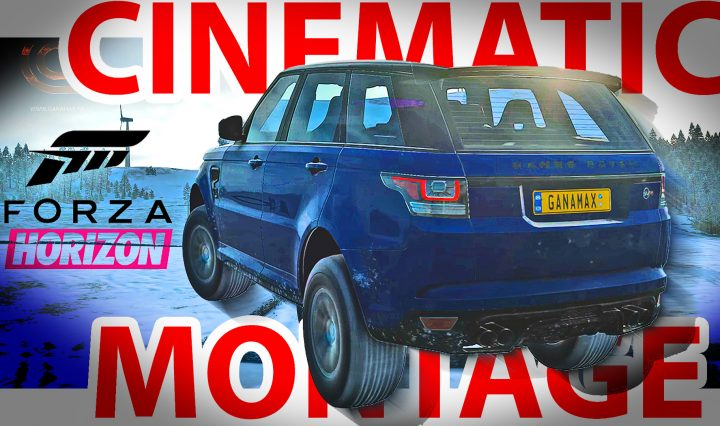 Forza Horizon 4 Extreme Graphics RTX3080 Gameplay and Cinematic Montage